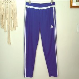 Adidas Climacool Track Pants in Classic Blue